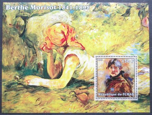 Poštovní známka Èad 2002 Umìní, Berthe Morisot Mi# Block 339 Kat 6€