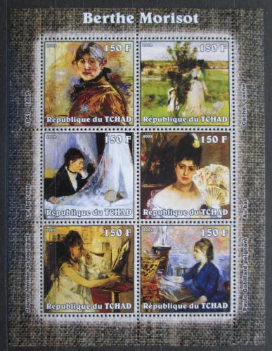 Poštovní známky Èad 2002 Umìní, Berthe Morisot Mi# 2304-09