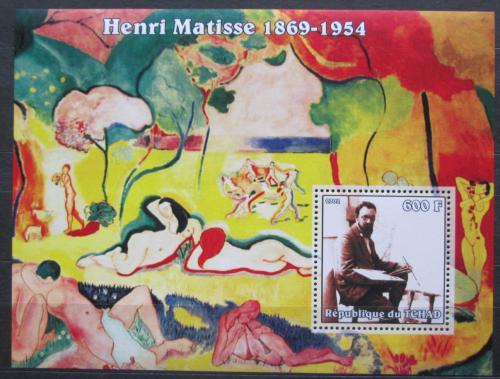 Poštovní známka Èad 2002 Umìní, Henri Matisse Mi# Block 351 Kat 7€