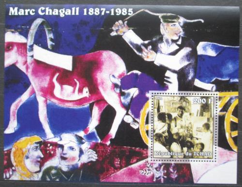 Poštovní známka Èad 2002 Umìní, Marc Chagall Mi# Block 340