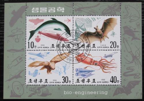 Poštovní známky KLDR 1990 Fauna Mi# 3107-10 Bogen