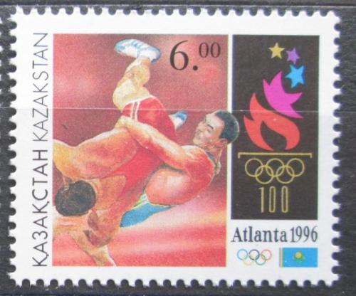 Poštovní známka Kazachstán 1996 LOH Atlanta, zápas Mi# 124
