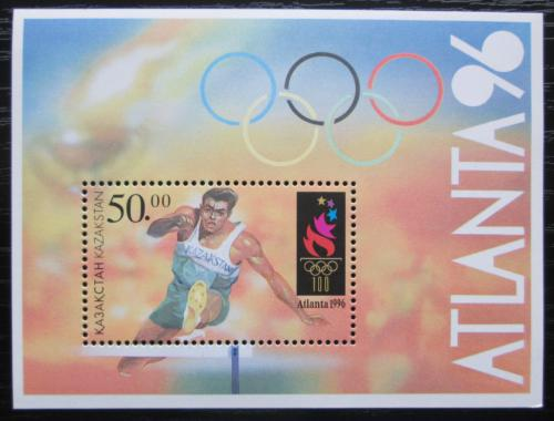 Poštovní známka Kazachstán 1996 LOH Atlanta Mi# Block 5