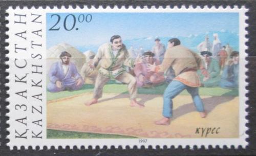 Poštovní známka Kazachstán 1997 Národní sport Mi# 200 Kat 3€