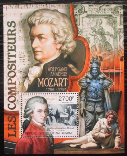 Poštovní známka SAR 2011 Wolfgang Amadeus Mozart Mi# Block 740 Kat 11€