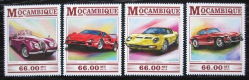 Poštovní známky Mosambik 2015 Legendární automobily Mi# 8064-67 Kat 15€