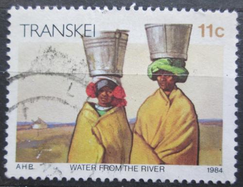Poštovní známka Transkei, JAR 1984 Pøeprava vody Mi# 147