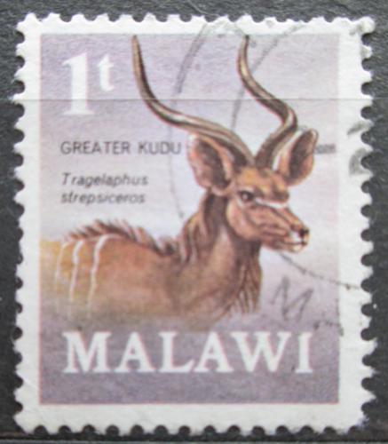 Poštovní známka Malawi 1971 Kudu velký Mi# 148