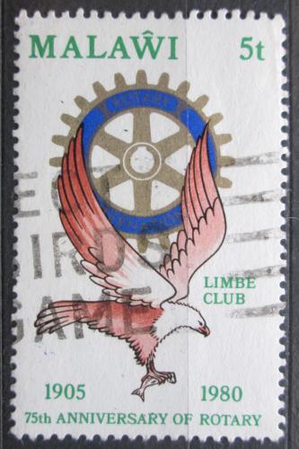 Poštovní známka Malawi 1980 Rotary Intl., 75. výroèí Mi# 340