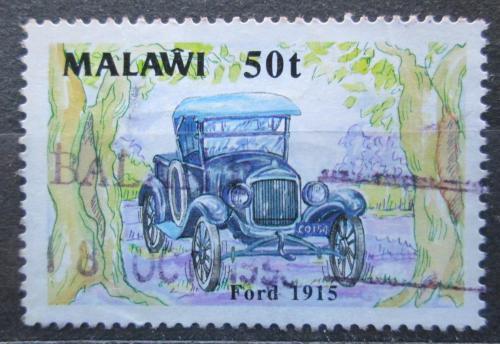 Poštovní známka Malawi 1990 Starý ford Mi# 547 Kat 2.80€