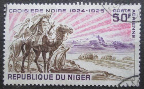 Poštovní známka Niger 1969 Jezdec na velbloudovi Mi# 229