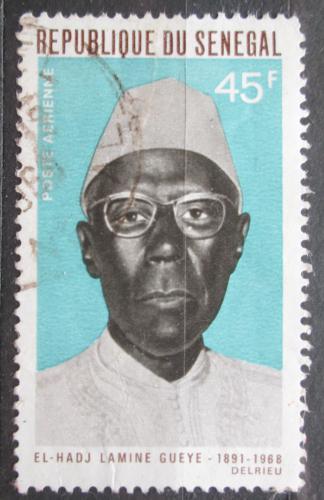 Poštovní známka Senegal 1969 Amadou Lamine-Guèye, politik Mi# 400
