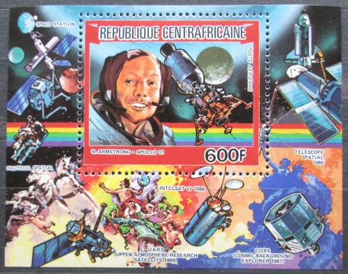 Poštovní známka SAR 1984 Neil Armstrong, Apollo 11 Mi# Block 283