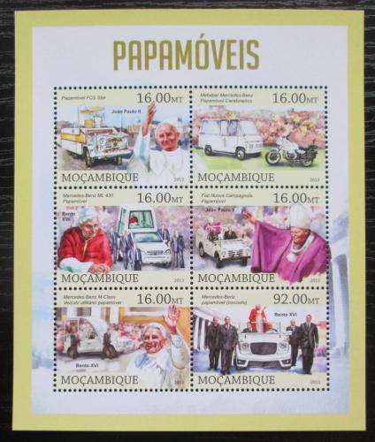 Poštovní známky Mosambik 2013 Papamobily Mi# 6553-58 Kat 10€