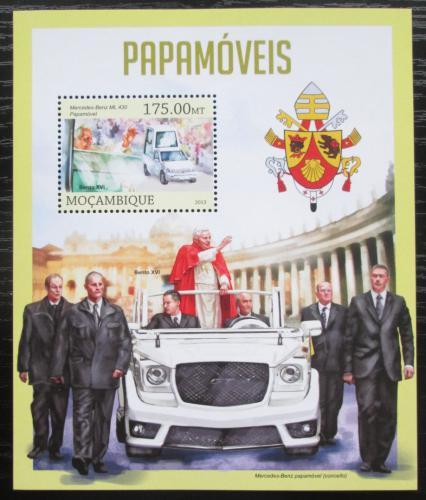 Poštovní známka Mosambik 2013 Papamobily Mi# Block 755 Kat 10€