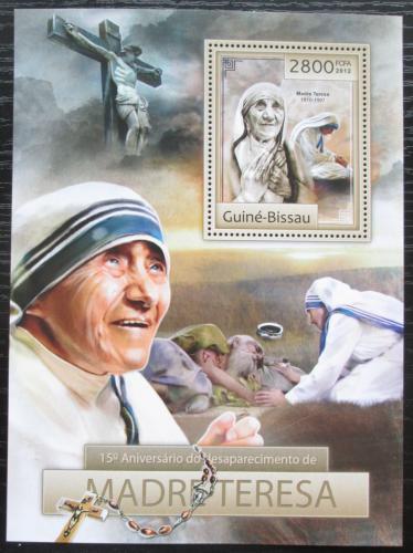 Poštovní známka Guinea-Bissau 2012 Matka Tereza Mi# Block 1114 Kat 11€