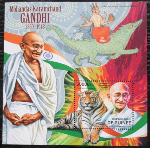 Poštovní známka Guinea 2012 Mahátma Gándhí Mi# Block 2104 Kat 12€