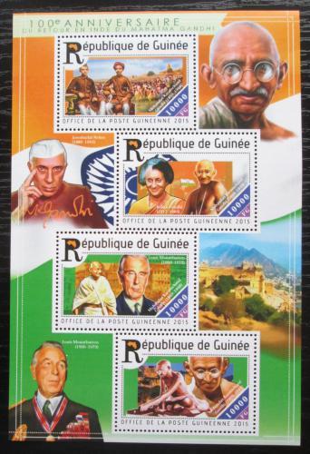 Poštovní známky Guinea 2015 Mahátma Gándhí Mi# 11108-11 Kat 16€