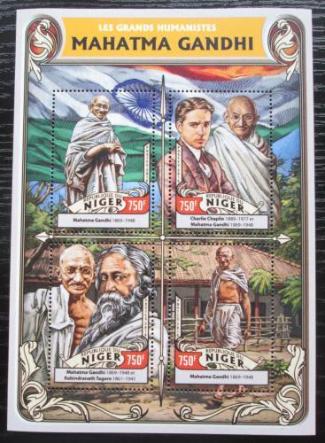 Poštovní známky Niger 2016 Mahátma Gándhí Mi# 4302-05 Kat 12€