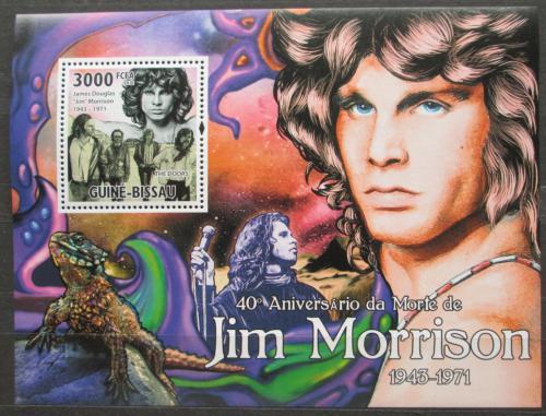 Poštovní známka Guinea-Bissau 2011 The Doors, Jim Morrison Mi# Block 904 Kat 12€