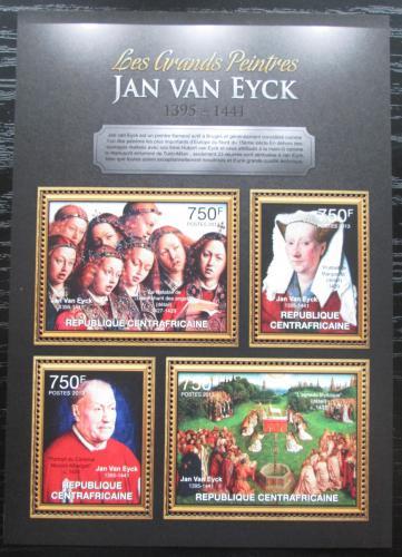 Poštovní známky SAR 2013 Umìní, Jan van Eyck Mi# 3862-65 Kat 14€