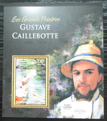 Poštovní známka SAR 2013 Umìní, Gustave Caillebotte Mi# Block 1007 Kat 14€