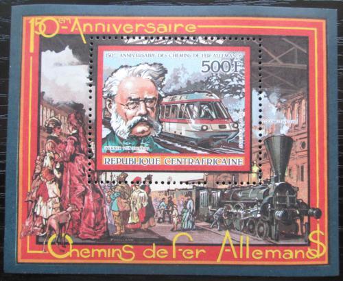 Poštovní známka SAR 1986 Nìmecká železnice Mi# Block 401