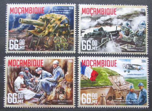 Poštovní známky Mosambik 2016 Bitva u Verdunu Mi# 8509-12 Kat 15€