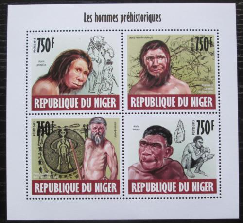 Poštovní známky Niger 2013 Pravìký èlovìk Mi# 2441-44 Kat 12€
