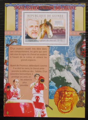 Poštovní známka Guinea 2010 Èínský nový rok, rok konì Mi# Block 1869 Kat 10€