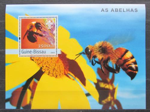 Poštovní známka Guinea-Bissau 2013 Vèely Mi# Block 446 Kat 18€