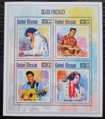 Poštovní známky Guinea-Bissau 2013 Elvis Presley Mi# 6905-08 Kat 14€