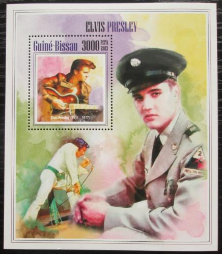 Poštovní známka Guinea-Bissau 2013 Elvis Presley Mi# Block 1212 Kat 12€