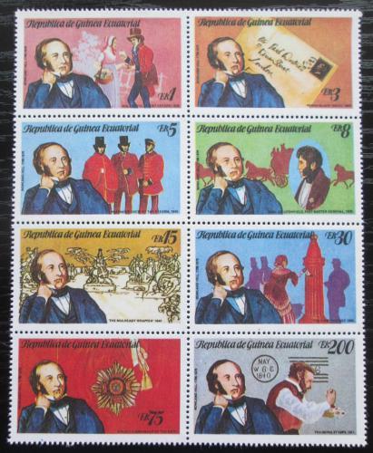 Poštovní známky Rovníková Guinea 1979 Rowland Hill, Penny Black Mi# Mi# 1452-59