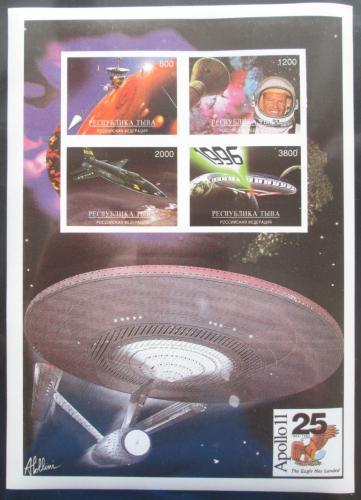 Poštovní známky Tuvinská rep., Rusko 1993 Prùzkum vesmíru, Apollo 11 Mi# N/N
