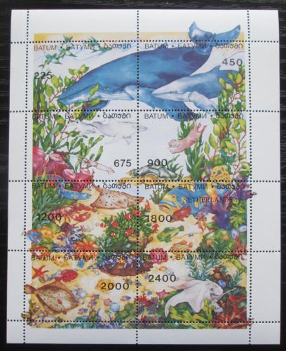 Poštovní známky Batum, Gruzie 1998 Moøská fauna Mi# N/N