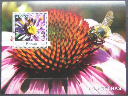 Poštovní známka Guinea-Bissau 2003 Vèely Mi# Block 446 Kat 18€