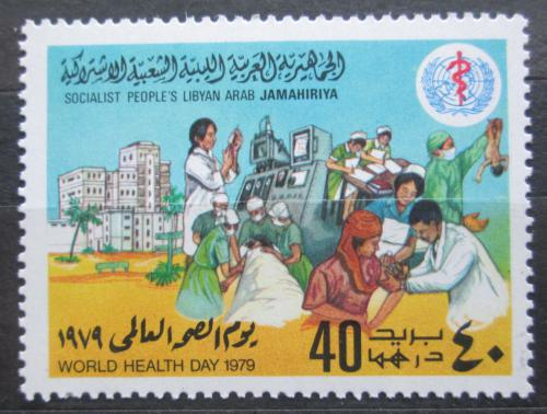 Poštovní známka Libye 1979 Svìtový den zdraví Mi# 727