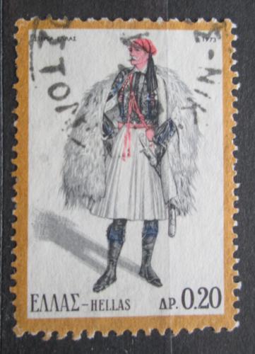 Poštovní známka Øecko 1973 Lidový kroj Mi# 1131