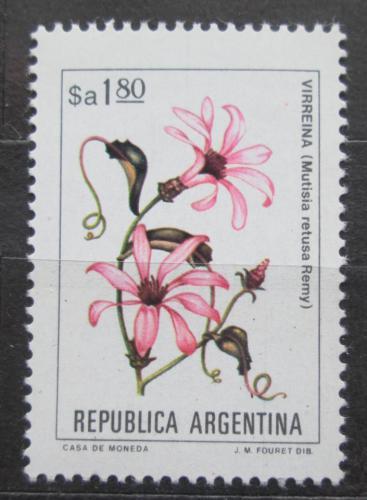 Poštovní známka Argentina 1983 Mutisia retusa Mi# 1663