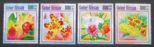 Poštovní známky Guinea-Bissau 2013 Africké orchideje Mi# 6976-79 Kat 13€
