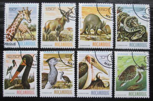 Poštovní známky Mosambik 1981 Fauna Mi# 796-803