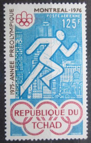 Poštovní známka Èad 1975 LOH Montreal, bìh Mi# 721