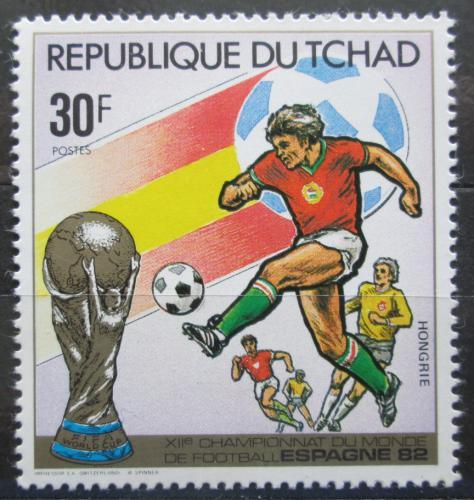 Poštovní známka Èad 1982 MS ve fotbale Mi# 890