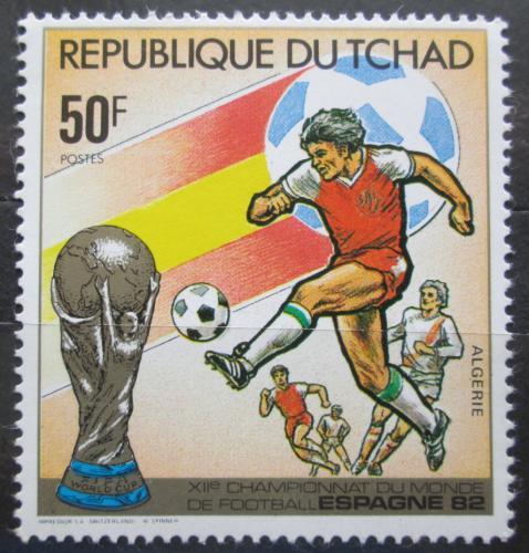 Poštovní známka Èad 1982 MS ve fotbale Mi# 892