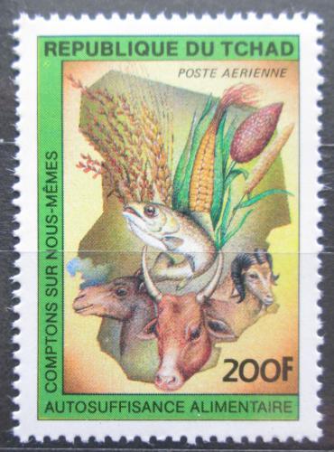 Poštovní známka Èad 1983 Fauna a flóra Mi# 1012