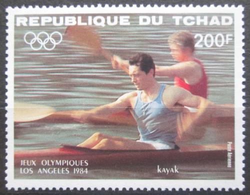 Poštovní známka Èad 1984 LOH Los Angeles, veslování Mi# 1057