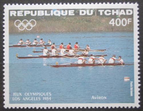 Poštovní známka Èad 1984 LOH Los Angeles, veslování Mi# 1059