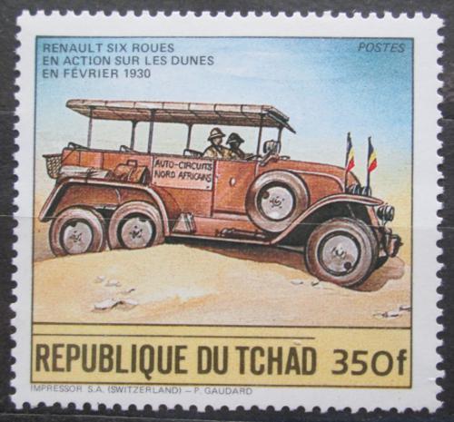 Poštovní známka Èad 1984 Automobil Renault 1930 Mi# 1064