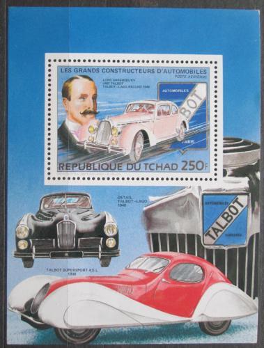 Poštovní známka Èad 1983 Automobily Mi# 990 A Block